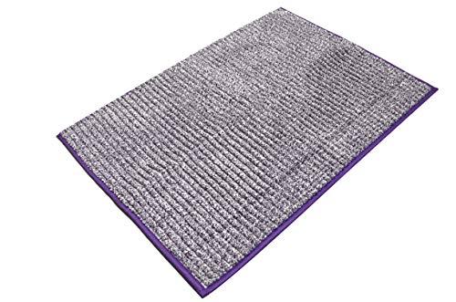 Ridder Fresh badmat, tapijt, mat, polyester, paars, ca. 50 x 70 cm.