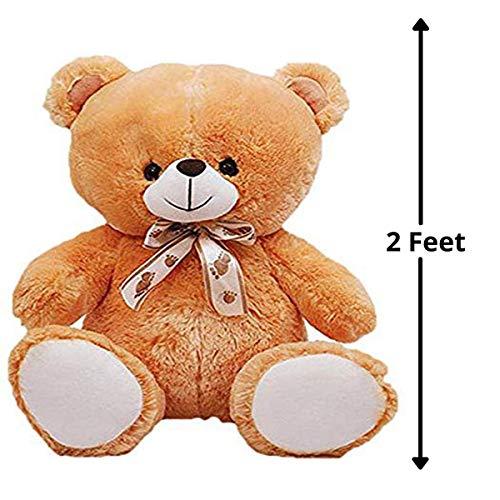 HUG 'n' FEEL SOFT TOYS Teddy Bear 2 feet, Soft Toys, Birthday Gift for Girls/Wife, Boyfriend/Husband, Wedding/Anniversary Gift for Couple Special,... 3