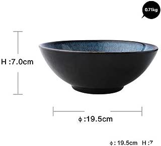 Ceramic Sim Blue Rice Soup Noodle Bowl Ramen Noodle Bowl Tableware,Kmw