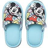 ニッポン スリッパ 子供用 ディズニー ミッキーマウス 18-20cm ブルー 282311