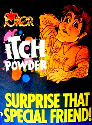 Itch Powder Prank Joke Trick Gag Single Pack