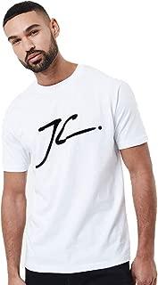 JC Velour Flock T-Shirt - White
