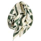 Ecroon Mujer Fulares Pañuelos para la cabeza Bufandas Pañuelo de Cuadrado para Chales Estolas