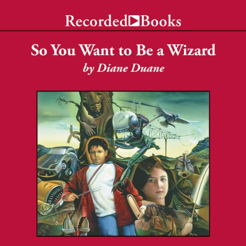 So You Want to Be a Wizard audiobook cover art