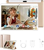 Tablet 10 Pulgadas Baratas y Buenas 4G, WiFi Tablet PC 10' 4GB RAM + 64GB ROM Android 9 Pie Ultrar-Rápido Tabletas de...