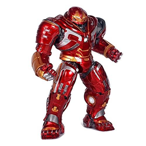 TAIYUAN Figurine Iron Man Action Figurines Ironman Hulk Modèle Jouets Super Heroes Figure Toys Enfants Cadeaux décorer (Color : No Box)
