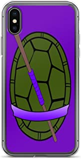 iPhone Xs Max Pure Clear Case Cases Cover TMNT Donatello Shell Case