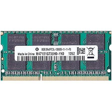 PC3L-12800S(DDR3-1600) SO-DIMM 8GB メモリンゴブランドノートPC用メモリ DDR3L&mac対応モデル (電圧1.35V & 1.5V 両対応)