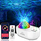 Star Projector Night Light, Galaxy Light Projector for Bedroom, Ocean Wave Starry Night Light Projector with Bluetooth Music Speaker & Remote, Night Lamp for Kids Adults, Party Decor/Birthday Gift