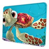 Finding Sea Turtles Mouse Pad with Non-Slip Rubber Base Gaming Mouse Pad with Stitched Edge Mouse Mat for Laptop,Computer & Pc,Office & Home
