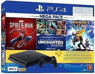 PlayStation 4 500GB - 5 Games Mega Bundle - 1 controller - PS4 PLUS 90 DAYS