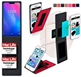 Cover for Vernee M6 Case | in Red | Multifunctional Cover
