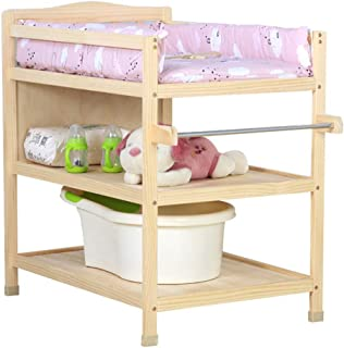 Family care/with Casters and Tower Hanger Room Boy Girl Changing Tray for Dresser Changing Diaper Station Change Pad and Safety Strap Baby Care Station Newborn Station (Color : C)