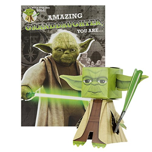 Hallmark Star Wars Geburtstagskarte für Enkelin