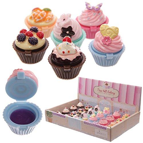 Yummy Cupcake Delicias Bálsamos De Labios/brillo de labios (juego de 4)
