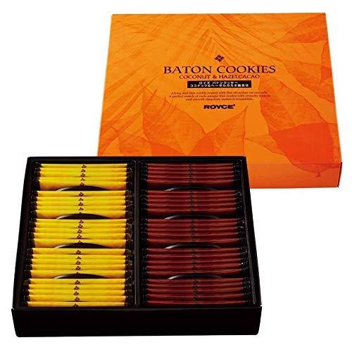 ROYCE' Baton Cookies [Coconut 25pcs] & [Hazel Cacao 25pcs] Sapporo Hokkaido Japan Import