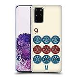Head Case Designs Mahjong Nueve Círculos Juegos de Mesa Carcasa de Gel de Silicona Compatible con Samsung Galaxy S20+ / S20+ 5G