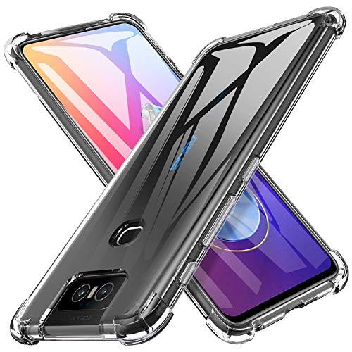 iBretter Fino Fino de Proteção para ASUS Zenfone 6 ZS630KL capa, TPU Suave, à prova de choque de Silicone Transparente Macio, para ASUS Zenfone 6 ZS630KL Smartphone.Transparent