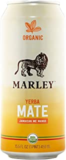 Marley Yerba Mate Organic Tea 15.5 Oz Cans - Pack of 12 (Be Jammin' Berry, Pack of 12)