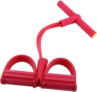 Elastiska träningsband expanderpedal kroppsbyggande skum bodybuilding trimmerutrustning för träning träning stretchning