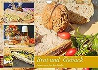 Brot und Gebaeck. Feines aus der Backstube (Wandkalender 2022 DIN A4 quer): Ofenfrische Backwaren schmecken immer! (Monatskalender, 14 Seiten )