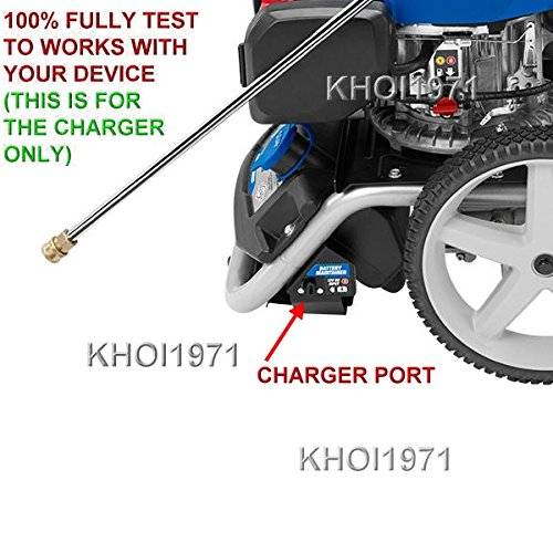 KHOI1971 Wall AC Power Adapter Starter Battery Charger Cable Compatible with Powerstroke Subaru EA190V Pressure Washer 3100 psi 2.4 GPM Charger AC Adapter NOT Created or Sold by Powerstroke