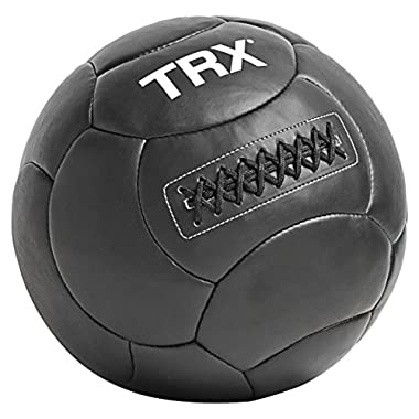 TRX Training Handcrafted Wall Ball with Reinforced Seam Construction, 14 Pounds (6.4 kg)