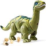 HERSITY Dinosaurios Robot Electronico Figura con Luz y Sonido, Efecto...