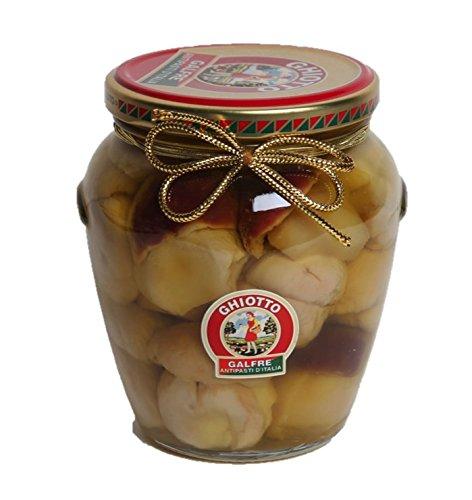 Galfrè Antipasti d'Italia - Funghi Porcini interi sottolio d'oliva - Vaso orcio g. 530