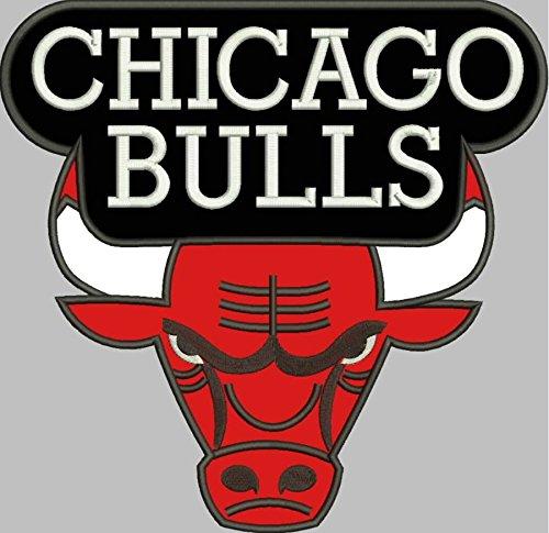 MAREL Parche termoadhesivo de Chicago Bulls NBA USA de 28 x 27 cm