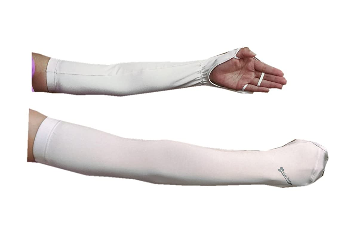 性格鳴り響く動くハンドアームカバー 手の甲や腕の日焼け防止 紫外線対策