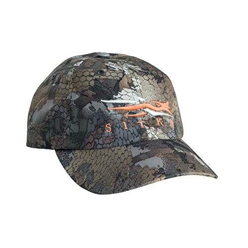 SITKA Gear Men's Sitka Quick-Dry Stretchy Hunting Ball Cap, Optifade Timber, OSFA