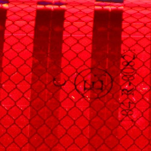 Warnmarkierung 3M Serie 983 Konturmarkierung Festaufbauten 55mm rot retroreflektierend 10 Meter