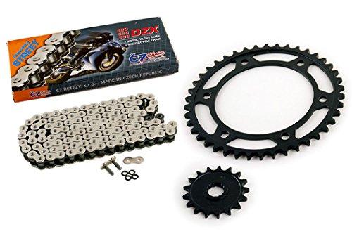 CZ MX Non O-Ring Chain fits KTM 50 SX Junior SXS 2007-2016 Gold 415-120L