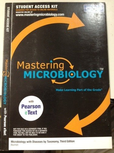 MasteringMicrobiology -- Standalone Access Card -- for Microbiology: An Introduction (MasteringMicrobiology (Access Code