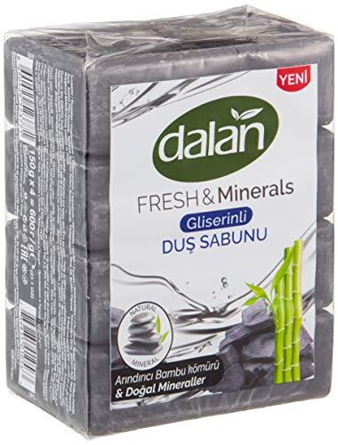 Dalan Fresh & Minerals - Dusch Seife mit Bambuskohle (600g)