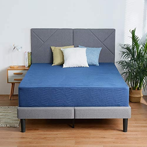 Olee Sleep 12 Inch New Safe Comfort Memory Foam Mattress Blue Full product image