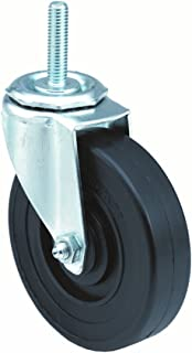 Plain Bearing 1 Wheel Width 1-1//2 Stem Height 5 Wheel Dia 1 Wheel Width 5-11//16 Mount Height 1//2-13 Stem Dia Wagner Stem Caster 5-11//16 Mount Height E.R 1//2-13 Stem Dia Polyurethane on Polyolefin Wheel 145 lbs Capacity 5 Wheel Dia Swivel