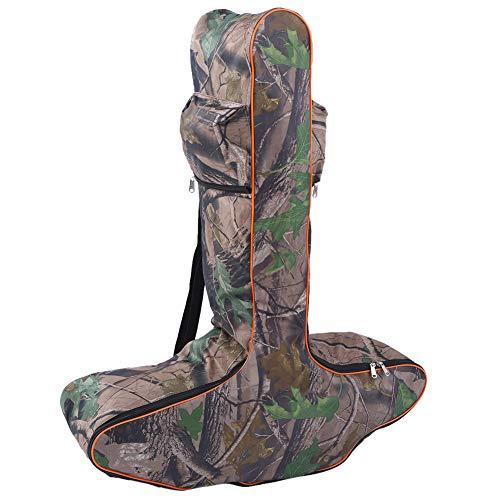 VGEBY Armbrust-Aufbewahrungstasche Weiche Armbrust-Tasche Armbrust-Aufbewahrungstasche T-förmige Bogen-Tasche Verstellbare Jagd-Bogenschieß-Tasche