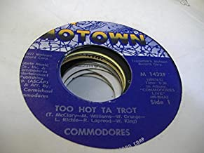 COMMODORES 45 RPM Funky Situation / Too Hot Ta Trot