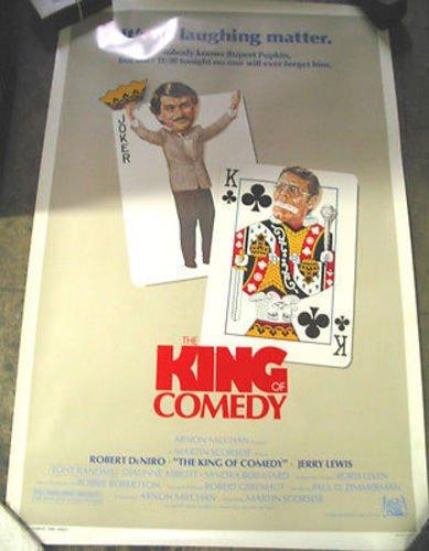 THE KING OF COMEDY / ORIGINAL U.S. ONE-SHEET MOVIE POSTER (ROBERT DENIRO)