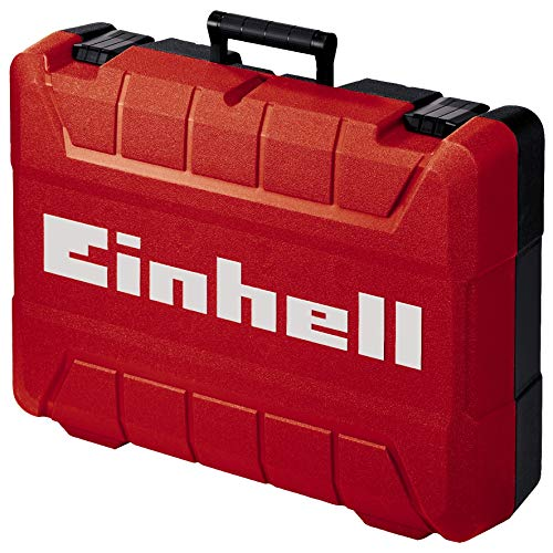 Einhell Koffer E-Box M55/40 für universelle Aufbewahrung von Werkzeug und Zubehör (weiches Schaumstoff-Innenfutter für verkratzungsfreien Transport, spritzwassergeschütztes Design, max 30 kg Zuladung)
