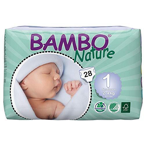 Bambo Nature Newborn (2-4kg) 28 Stück Ökowindeln