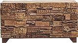 Kare Design Sideboard Shanti Surprise Puzzle Nature, 90x160x42cm