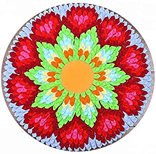 Round Meditation Mat, Round Meditation Cushion, Round Meditation Cushion for Yoga, Round Cloth yoga mat - Diameter 40cm,B