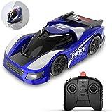 DEERC DE31 RC ferngesteuertes Auto für Kinder,Mini Stunt Car mit 360 ° Rotating,Dual-Fahrmodus,LED-Leuchte,2.4 GHz Fernbedienung,Wand Fahren Fahrzeuge Spielzeug für Mädchen