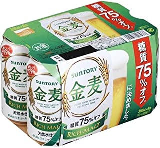 サントリー 金麦(糖質75% オフ) [ 350mlx6本 ]