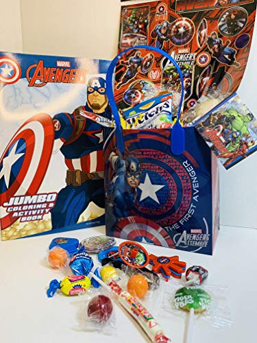 Happy Valentine Valentine Day DIY Gift Gifts Basket Easter Birthday Kids Girls Boys Captain America Toys May Vary