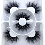 HBZGTLAD 2021 New 3 pairs natural false eyelashes fake lashes long makeup 3d mink lashes eyelash extension mink eyelashes for beauty (FD219)