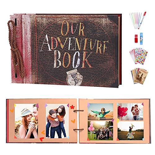 ZHENGJIANG Our Adventure Book Álbum de Fotos Libro de...